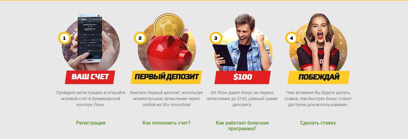зеркало БК Леон РФ